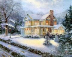 Только со временем снеговик стал символом новогодних праздников
