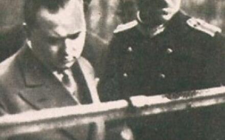 Эрик Тецнер (слева) так и не добился снисхождения от судей. По приговору он был казнен