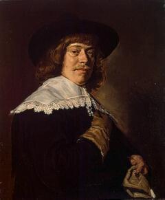 Из коллекции Гоцковского. Франс Хальс. Портрет молодого человека с перчаткой в руке. Около 1650 г.