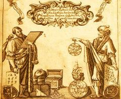 Фрагмент страницы из «Арифметики» Л.Ф. Магницкого