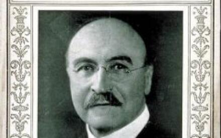 Фотография Л. Бекеланда на обложке журнала Time за сентябрь 1922 года