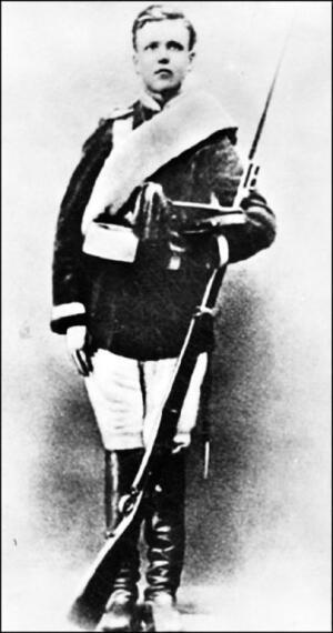 В.А. Гиляровский - юнкер. 1871 г.