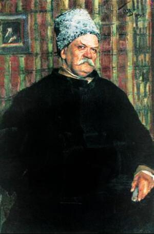 С.В. Малютин. Портрет В.А. Гиляровского