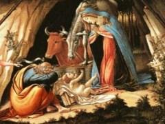 Сандро Боттичелли. Рождество (фрагмент)
