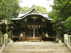 Храм Окадзаки в Киото, его основной символ – кролик, покровитель рождаемости