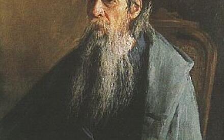 Портрет Н. Е. Салтыкова-Щедрина. 1886. Кисловодский художественный музей Н. А. Ярошенко