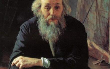 Портрет Николая Николаевича Ге. 1890. Русский музей