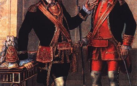 Офицер и сержант Лейб-кампании