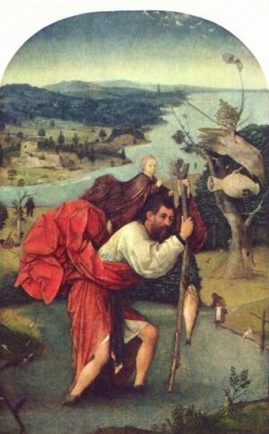 Св. Христофор, 1504-1505