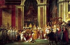 Жак-Луи Давид. Коронация императора Наполеона I и императрицы Жозефины в соборе Парижской Богоматери 2 декабря 1806 года