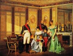 Жозефина и Александр I в Мальмезоне