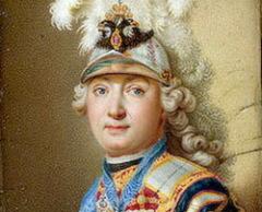 А.И. Чёрный (Чернов). Портрет Г.Г. Орлова, 1770 г.