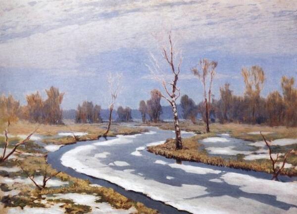 А. Куинджи «Ранняя весна».