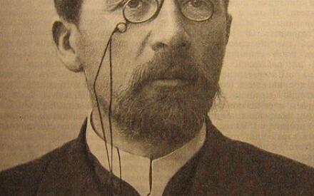 А.П. Чехов. Одна из последних фотографий (1903 или 1904 гг.)