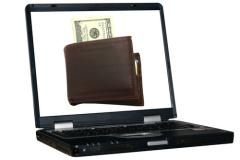 Финансовые операции лучше производить на своём компьютере!