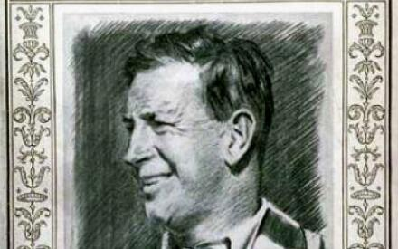 Портрет Д. Дэвиса на обложке журнала