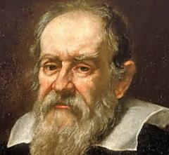 Портрет Галилео Галилея, фрагмент. Художник - Юстус Сустерманс (1635 г.)