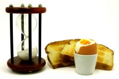 Время надо экономить, особенно утром