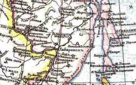 Уссурийский край достался России без единого выстрела (Карта Российской империи, источник: ru.wikipedia.org)