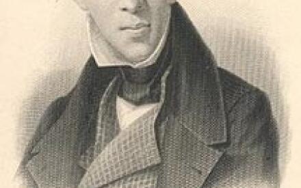 Портрет Андерсена (A. Weger, 1876 г.)