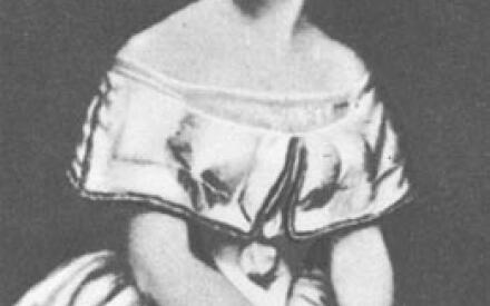 Андерсен любил певицу Йенни Линд, она его тоже, но только как писателя (Фото XIX в., из книги Л.Брауде