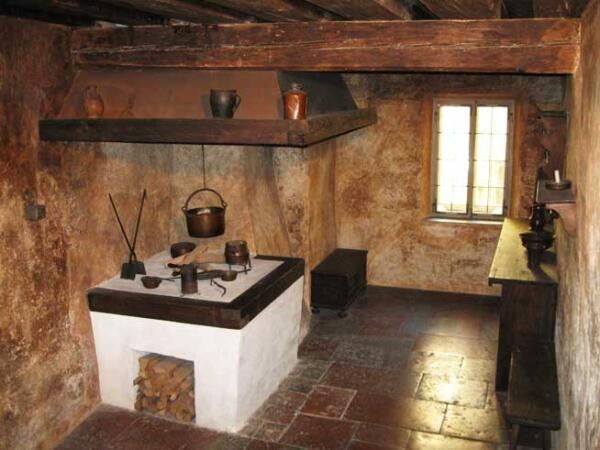 Кухня в Доме-музее Моцарта