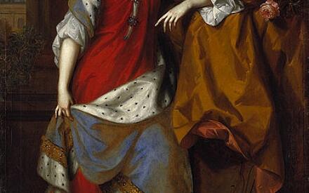 Королева Анна (Худ.: В. Виссинг и Я. Ван дер Ваарт)