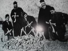 Фотография из Музея геноцида в Ереване