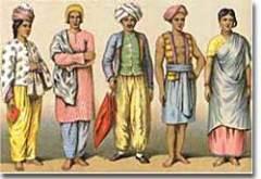Представители кастовой системы Индии