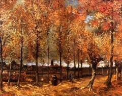 Винсент ван            Гог. Тропинка с тополями