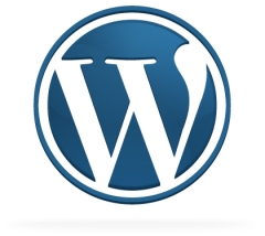 Логотип WordPress-блог