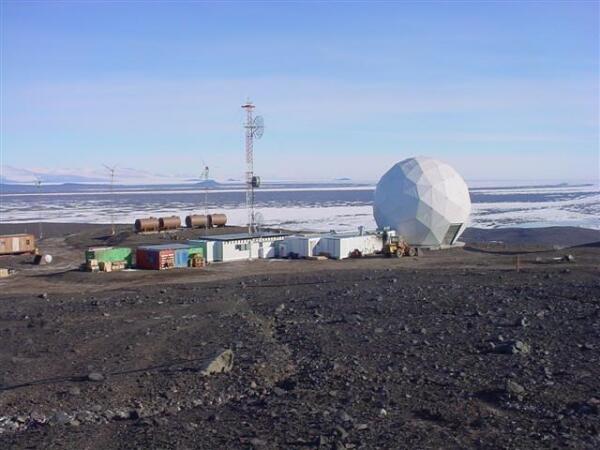Исследовательская станция США в Антарктиде