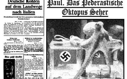 Пауль предсказывает поражение немцев