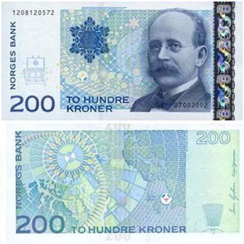 Кто изображен на современных норвежских купюрах? | Деньги ...
