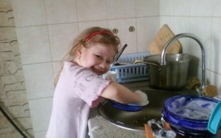 Я полы подмету, вымою посуду...