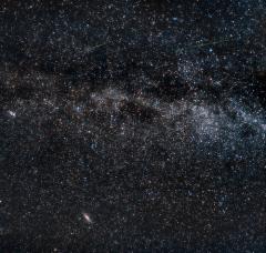 Персеиды на Млечном пути