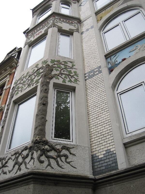 Фленсбург, жилые кварталы в Югендстиле. Северный модерн.