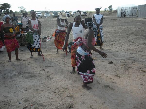 Африканский танец в Танзании