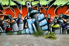 Граффити оформление клуба
