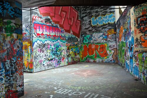 как научится рисовать граффити