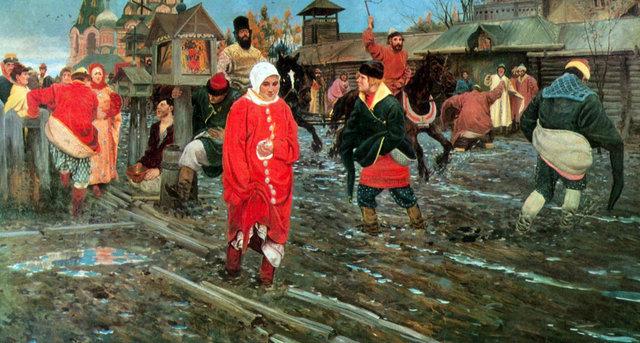 b Московская улица /b XVII века.