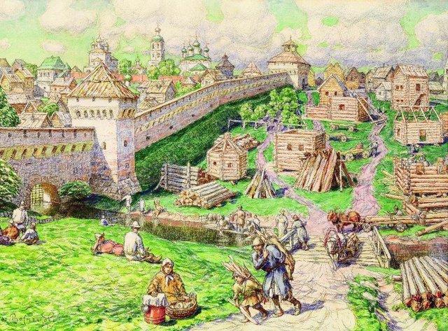 Русская культура 1013 века живопись
