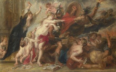 П. Рубенс, «Ужасы войны»