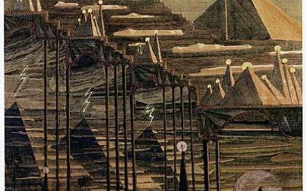 Соната пирамид (Аллегро, Чюрленис)