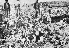 Останки убитых армян, Ал-Зирна, 1915