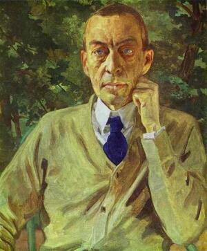С. Рахманинов (портрет работы К. Сомова)