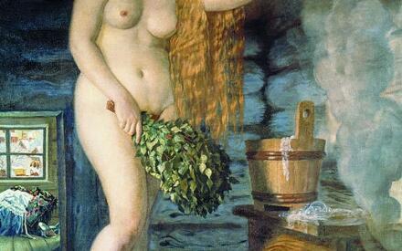 «Русская Венера», 1925-1926 (Б.М. Кустодиев