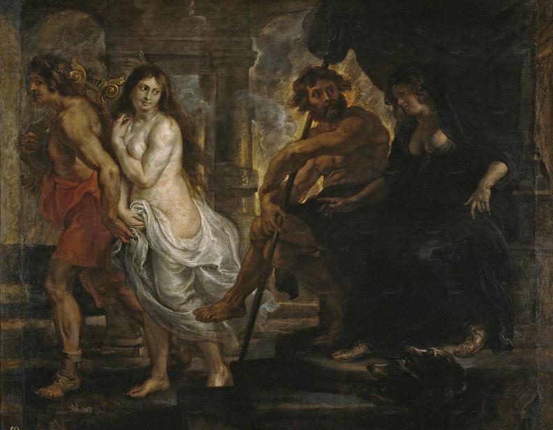 Рубенс. «Орфей и Эвридика»