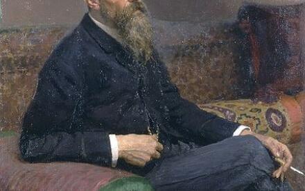 Портрет Римского-Корсакова (И. Репин)