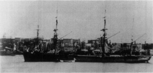 Клипер «Алмаз» в Нью-Йорке (на этом судне служил Н. Римский-Корсаков. Источник: en.wikipedia.org)